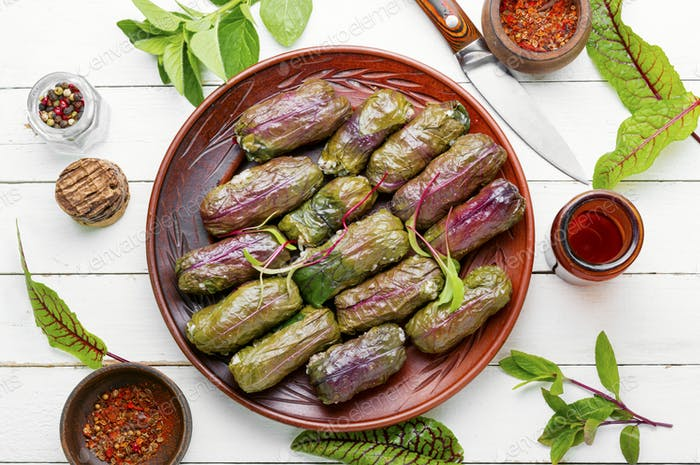 Traditionelles georgisches Dolma