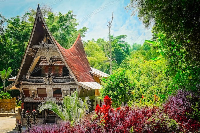 Batak House near Lake Toba