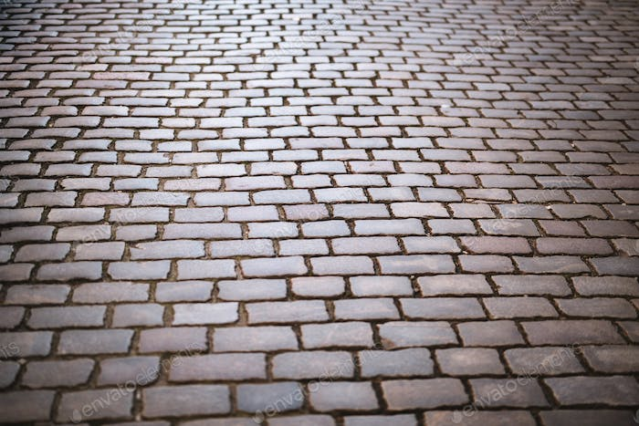 Cobble Stone Street Background