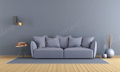 Purple modern lounge