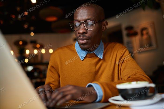 African-American Freelancer