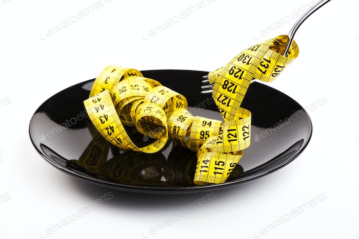 Yellow Tape on Plate