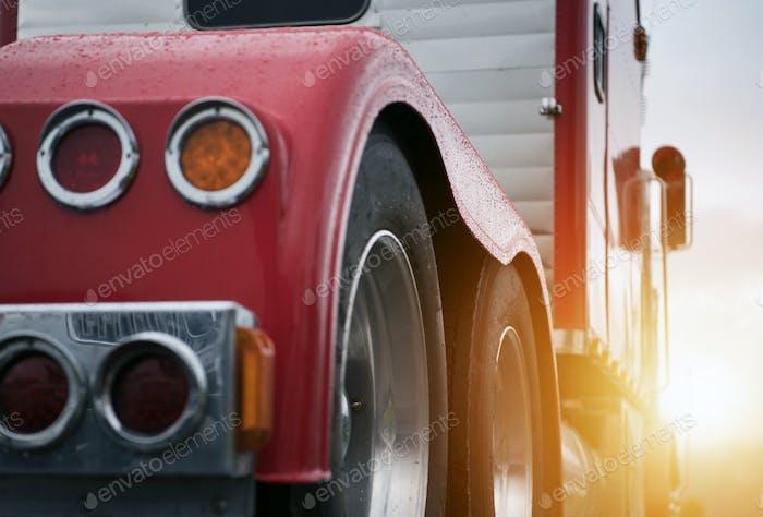 Semi Truck Transport