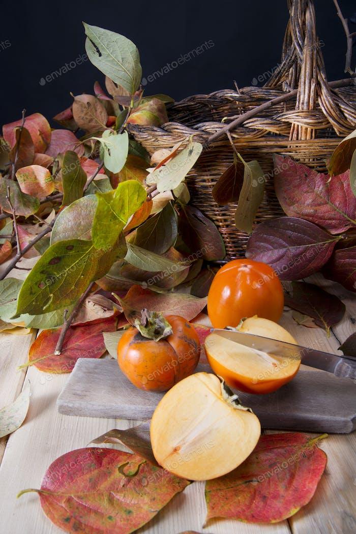 Die Frucht von Persimmon