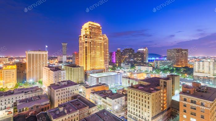 New Orleans, Louisiana, USA Innenstadt CBD Skyline
