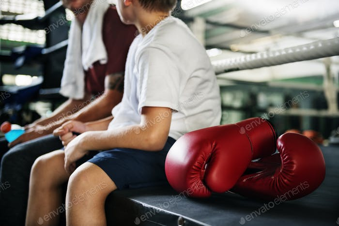 Coaching Trainer Sporty Exercise Athlete Workout Concept