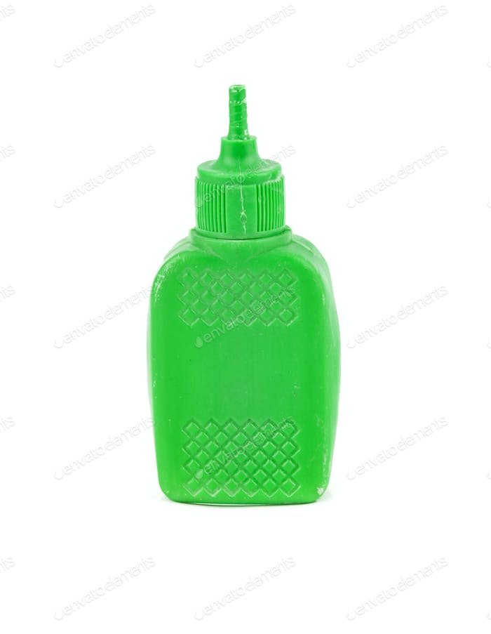plastic glue container