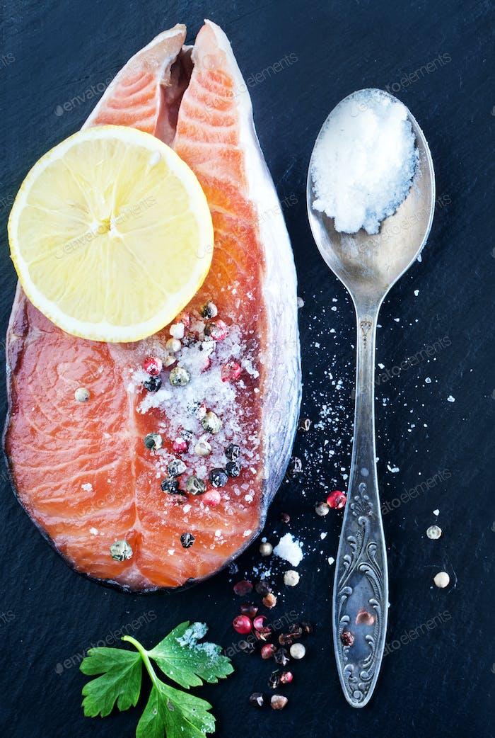 Thumbnail for salmon steak