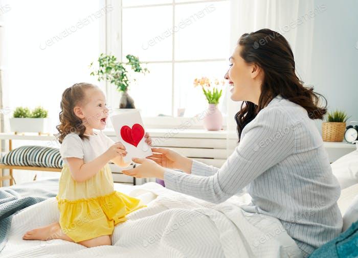 Glücklicher Muttertag!