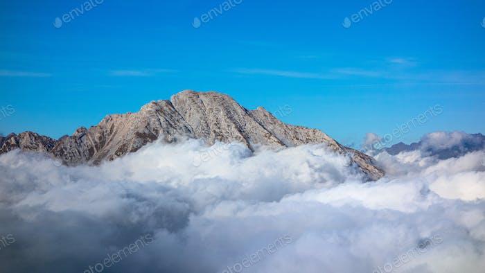 Berg Arera auf den Orbie-Alpen