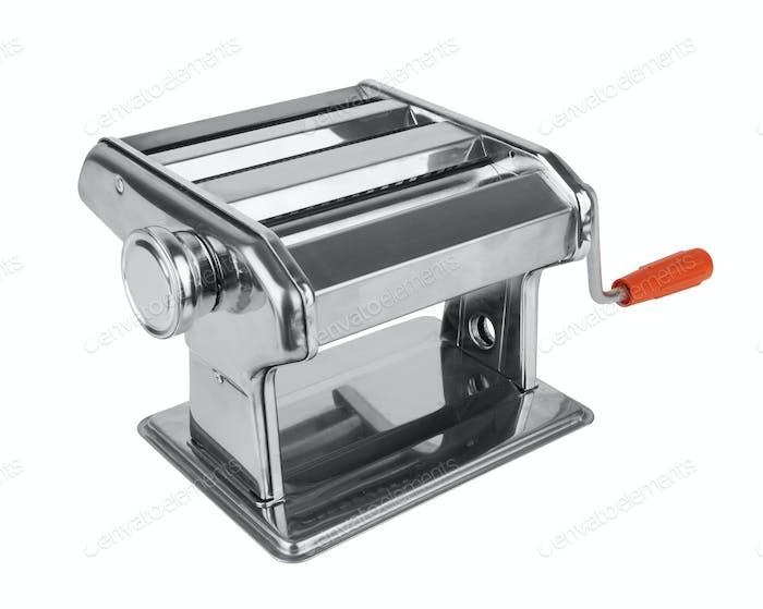 Metal pasta machine