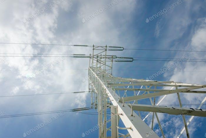 high voltage transmission line