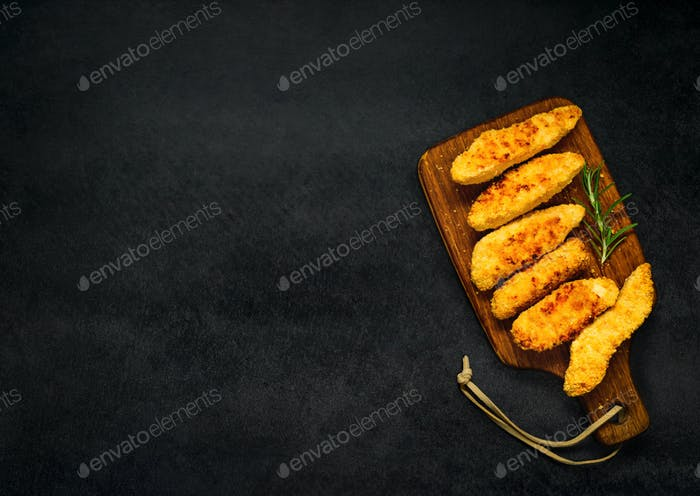 Chicken Fingers on Copy Space