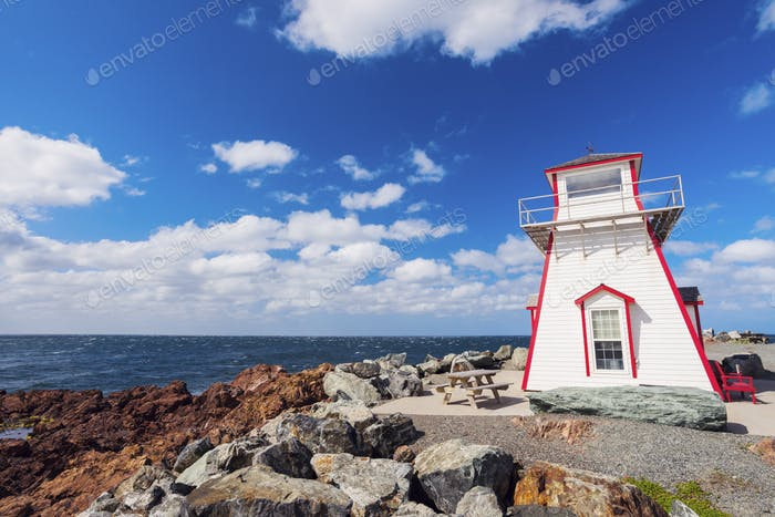 Arisaig Lighthouse in Nova Scotia