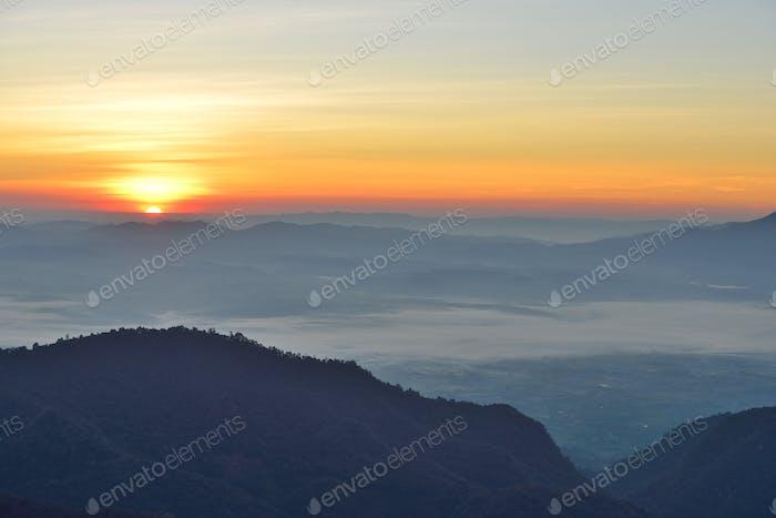 Landscape, Sunrise