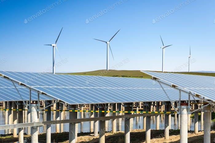 renewable new energy background