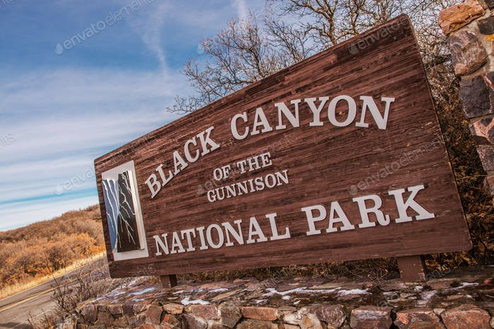 Black Canyon in Colorado