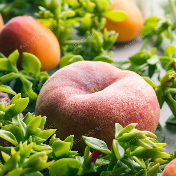 Fresh summer fruit concept still life