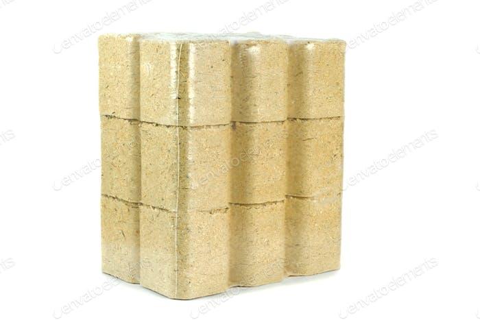 A Pack of Wooden Briquettes
