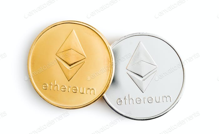 Ethereum. Criptomonedas Digital.