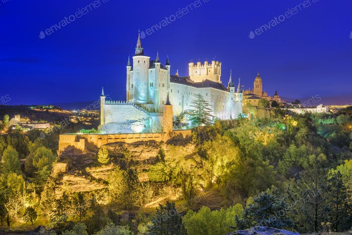 Segovia Spain Skyline