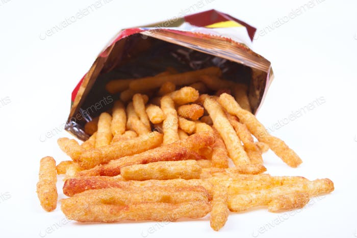 fries in a bag