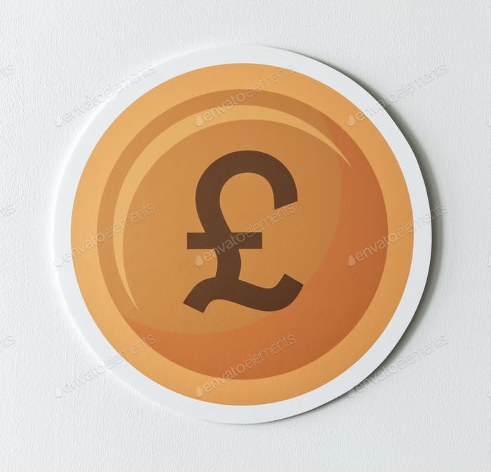 Pound Sterling Currency Exchange Icon