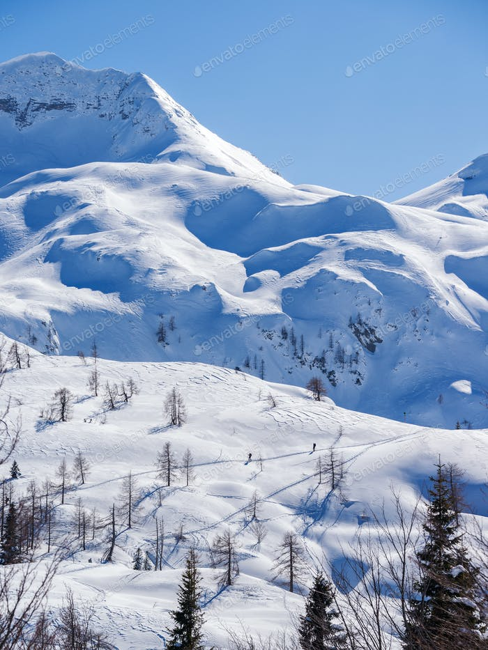 Winterparadies in den Julischen Alpen