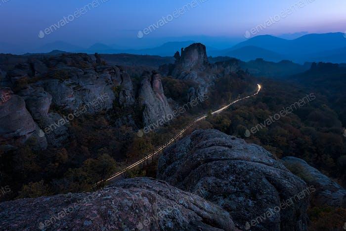 Belogradchik rocks in Bulgaria