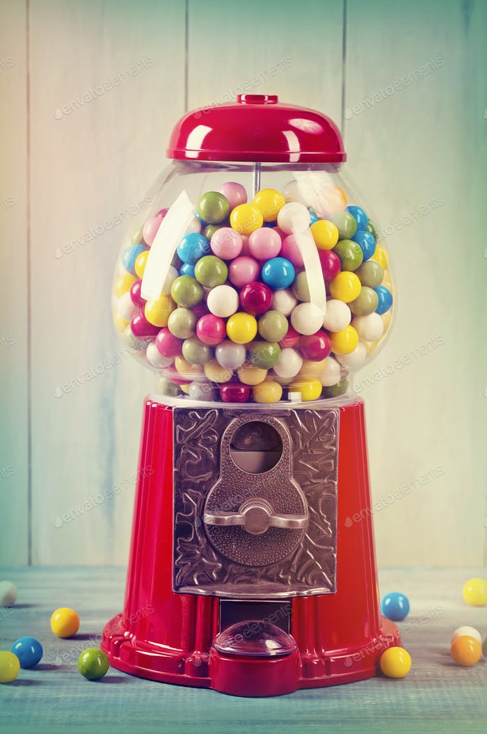 Carousel Gumball Machine Bank i