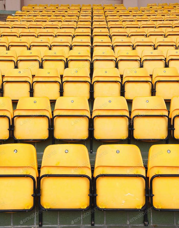 asientos en el estadio