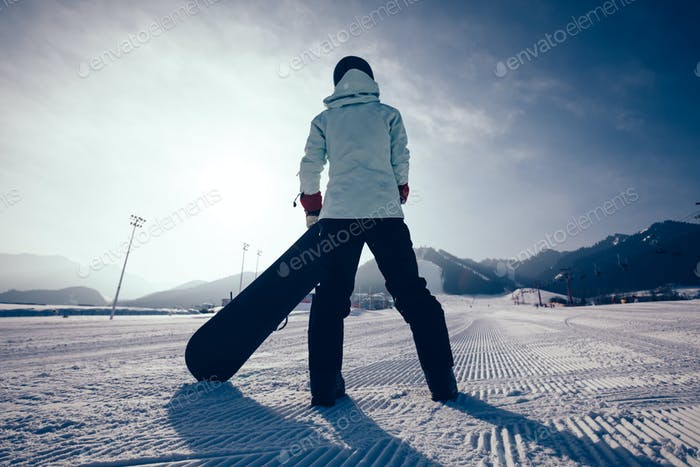 Ready for snowboarding