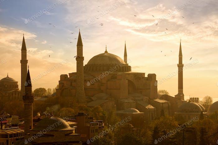 Haghia Sophia in Istanbul