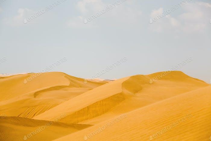 Wüstendünen Hintergrund