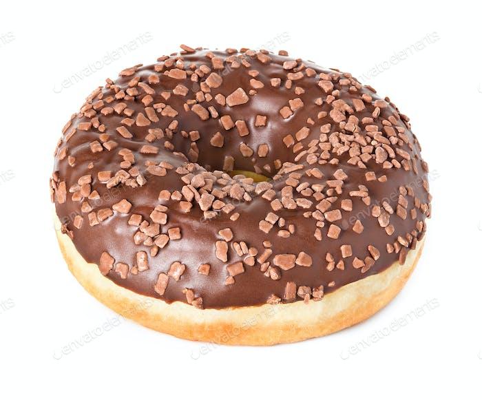 Donut isoliert auf weißem Hintergrund