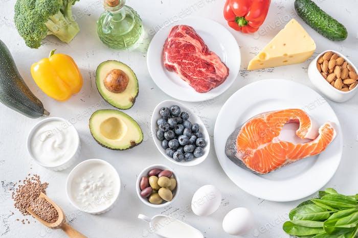 Foods for ketogenic diet
