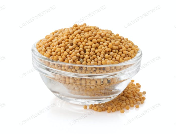 mustard spices in bowl