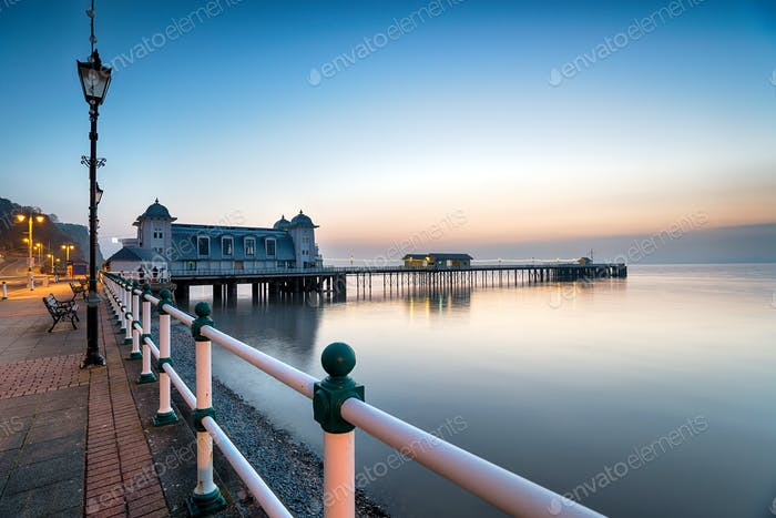 Dawn at Penarth Pier