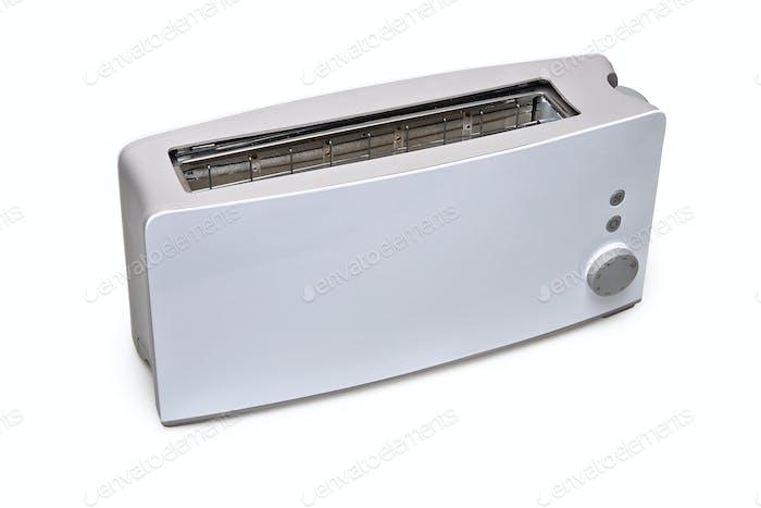 Ein klassischer Toaster isoliert mit Clipping-Pfad