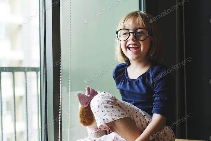 Adorable Smart Girl Home Concept
