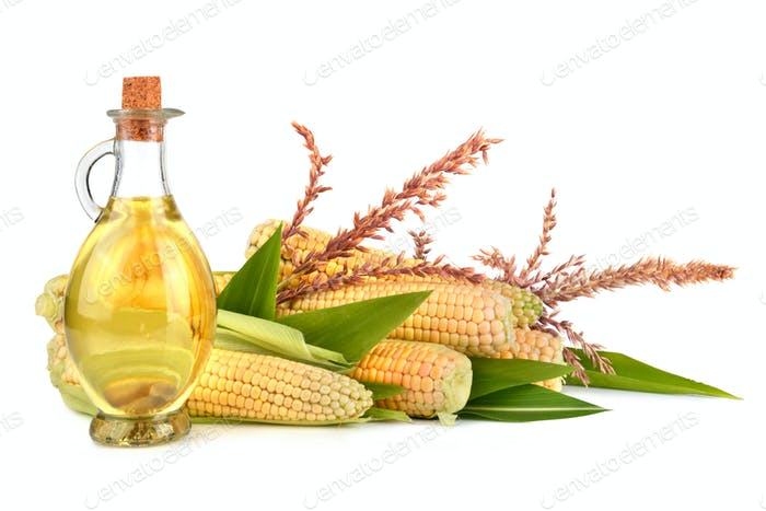 Corn oil with cobs