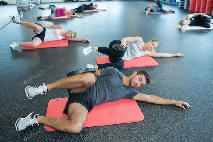 physical and fitness group