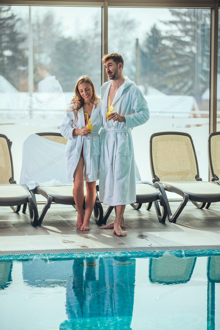 Romance at spa resort
