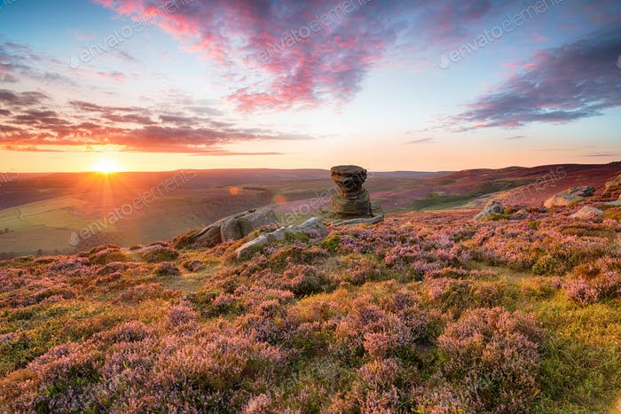 The Salt Cellar on Derwent Edge