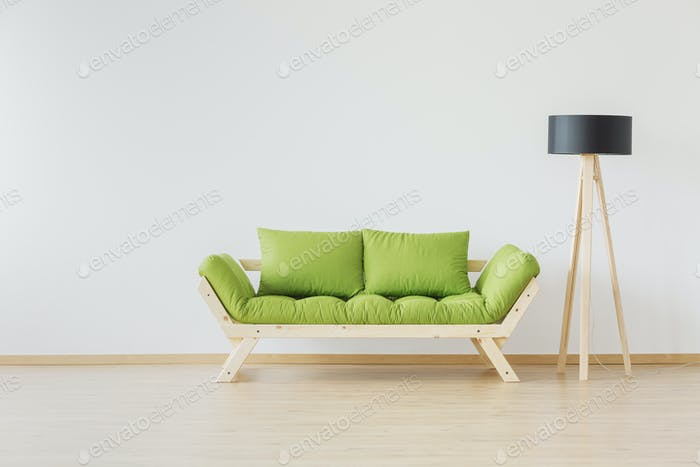 Simple and raw furniture