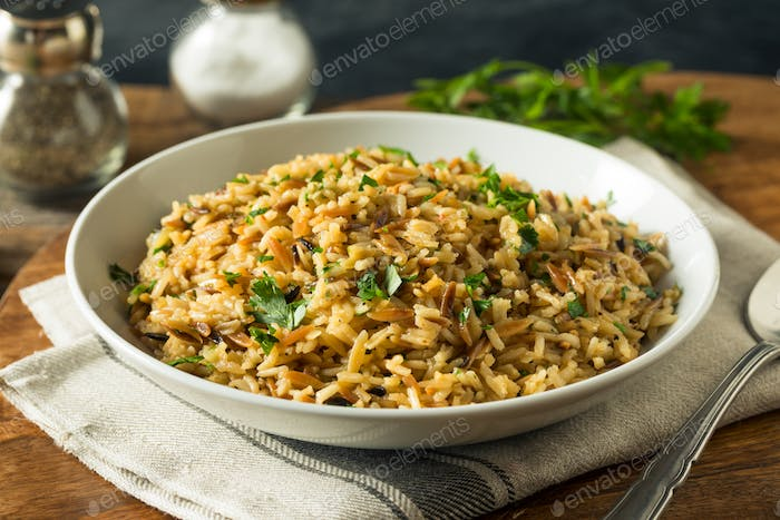 Savory Homemade Rice Pilaf