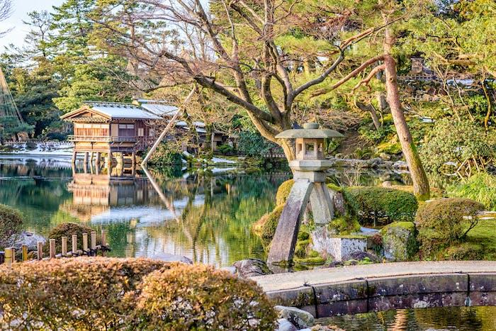 Kanazawa, Japanische Gärten