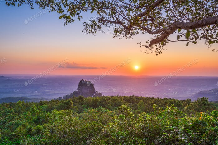 Mt. Popa, Myanmar