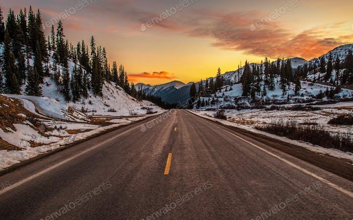 Colorado-Gebirgspass