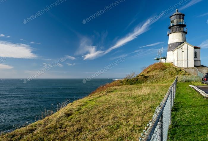 Cape Disappointment Lighthouse, built in 1856
